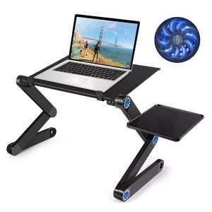 Столик/подставка для ноутбука lemleo с охлаждением для ноутбука и планшета