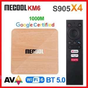 ТВ приставка Mecool KM6 Deluxe
