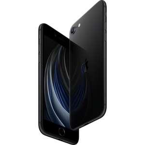 [Хабаровск, Чита, Пенза и др.] Смартфон Apple iPhone SE 2020 256 ГБ черный