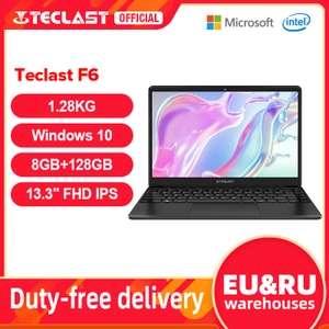 "13,3"" Ноутбук Teclast F6 FHD/n3350/8+128 Гб"