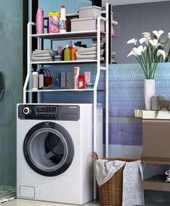 Стеллаж для ванной комнаты Sokoltec HW47885WH
