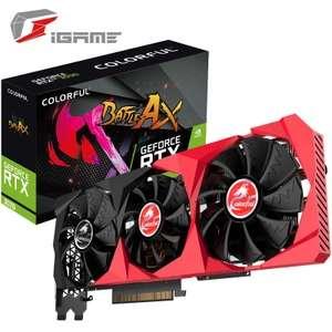 Видеокарта Colorful GeForce RTX 3070 LHR