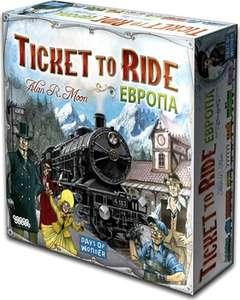 [Челябинск и возм. др] Настольная игра Hobby World Ticket to Ride: Европа