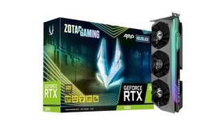 Видеокарта ZOTAC GeForcer RTX 3080 Trin AMP Holo LHR 10GB, Premium Pack