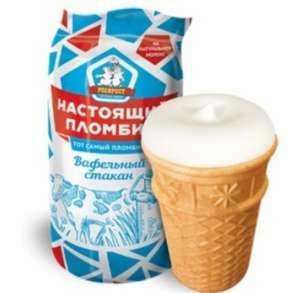[Волгоград] Мороженое настоящий пломбир, стаканчик в сети Покупочка