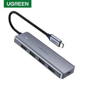 USB-концентратор UGREEN CM219-70336 с 4 USB-портами (с монетами дешевле)