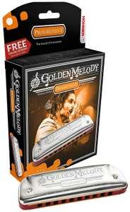 Губная гармошка Hohner Golden Melody 542/20 (M542036X) D + доступ на 30 дней к бесплатным урокам