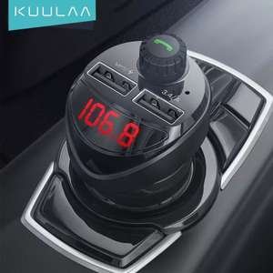 Автомобильное зарядное устройство Kuulaa LC01, USB Type-A x 2, 10 Вт