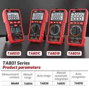 Мультиметры TASI TA801A/B/C/D
