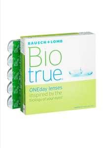 Контактные линзы Bausch & Lomb Biotrue ONEday, 90 шт., R 8,6, D -2,25