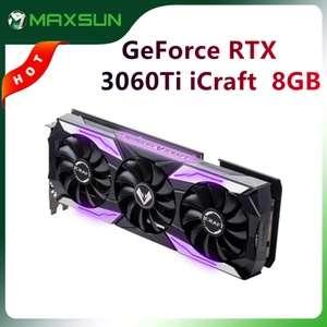 Видеокарта MAXSUN RTX 3060Ti iCraft 8GB