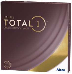 Контактные линзы Dailies (Alcon) Total1, 90 шт., R 8,5, D -1,5