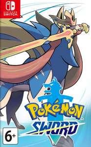 [Nintendo Switch] Игра Pokemon Sword + другие игры в описании