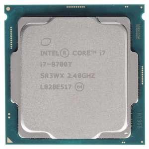 Комплект Intel Core с материнской платой со скидкой 15% (напр. процессор Intel Core i7-8700T OEM + материнская плата Gigabyte B365M H)