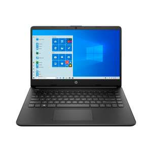 Ноутбук HP 14s-fq0023ur 2X0J3EA чёрный (14', 1366x768, Athlon 3050U, RAM 4 ГБ, SSD 256 ГБ, Radeon Vega 2, Windows 10 Home)