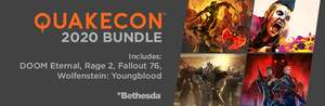 [PC] QUAKECON 2020 BUNDLE (набор DOOM Eternal, Fallout 76, RAGE 2, Wolfenstein Youngblood)
