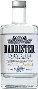 Джин Barrister Dry, 0.7л цена за штуку, при покупке 3