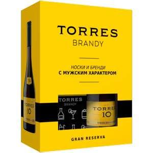 [МСК] Бренди Torres 10 лет, 0.7л. В подарок фирменные носки.