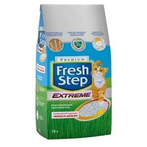 Наполнитель для туалета кошке Fresh Step Extreme 18 л
