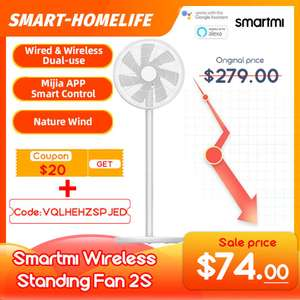 Напольный вентилятор Smartmi 2s