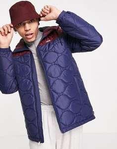 Сине-бордовая куртка Vans Woodcrest II