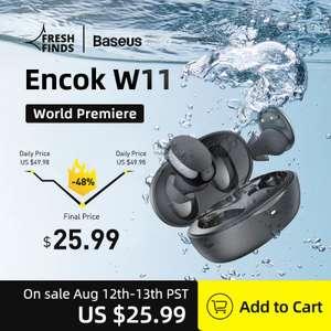 Наушники Baseus Encok W11 TWS