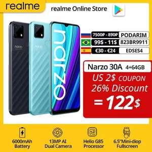 Смартфон realme Narzo 30A 4/64