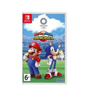 [Nintendo Switch] Марио и Соник на Олимпийских играх 2020 в Токио