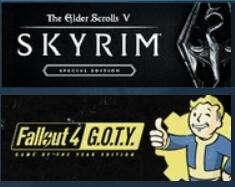[PC] Fallout 4 GOTY + Skyrim SE