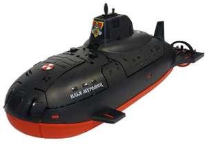 Подводная лодка Нордпласт Илья Муромец (357/1), 41.5 см, черный, игрушка.