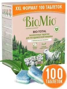 Таблетки для посудомоечной машины BioMio 7в1, 100 шт