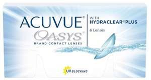Контактные линзы Acuvue OASYS with Hydraclear Plus, 6 шт.