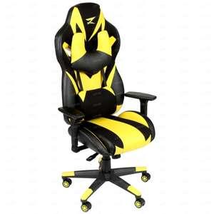 Кресло игровое ZET Gaming Chaos guard 100M (Жёлтый)