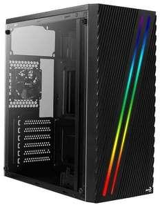 Корпус для ПК AeroCool Streak Mid-Tower, Micro-ATX, Mini-ITX, Standard-ATX, USB 2.0 Type-A, USB 3.2 Gen1 Type-A (цена зависит от города)