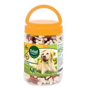 Кальцинированные косточки с уткой для собак, 450г (банка)