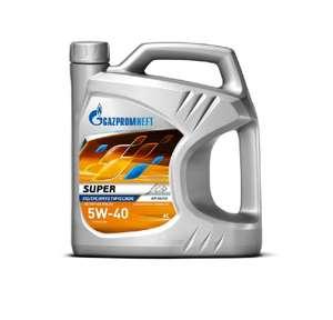 Моторное масло Gazpromneft Super 5W-40 4л п/с
