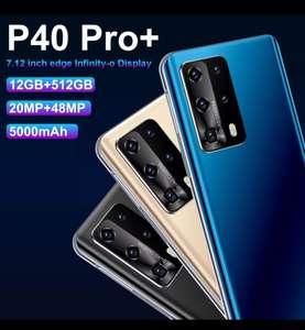 Смартфон HAU WEI P40 RO + 12+512ГБ, 5000 мАч, 48 МП