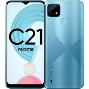 Смартфон REALME C21 4/64Gb (цена после авторизации, не для всех)