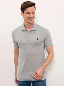 Мужская футболка поло U.S. POLO ASSN. (рр XS - XXXL), 7 цветов на Tmall