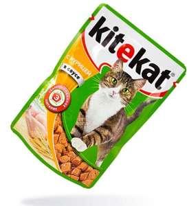 Корм для кошек Китекэт курица 85г