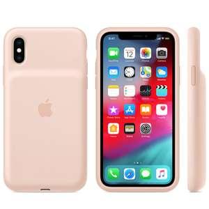 Чехол-аккумулятор Apple Smart Battery Case для Apple iPhone XS Max pink sand