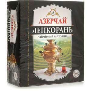 Чай чёрный Азерчай, 100 пакетиков