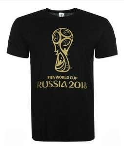 Футболки с символикой чемпионата мира по футболу 2018г