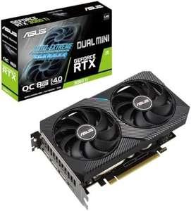 Видеокарта ASUS DUAL GeForce RTX3060TI Mini OC V2 (цена с доставкой и пошлиной)