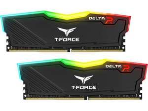 Оперативная память Team T-Force Delta RGB 32GB (2 x 16GB) 288-Pin DDR4 SDRAM DDR4 3200