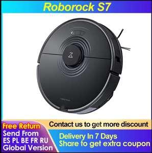 Робот-пылесос Roborock S7 глобальная версия, с 23.08