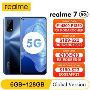 Смартфон Realme 7 (5G) 6+128 ГБ с 23 августа