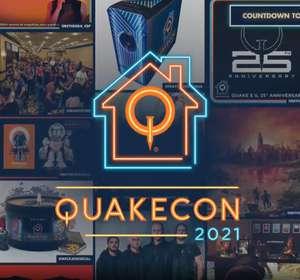 Бесплатно элементы оформления профиля в Steam (за просмотр трансляции QuakeCon 2021)