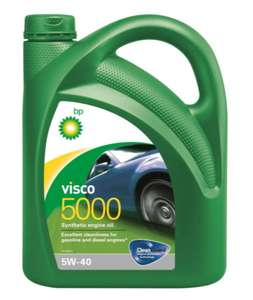 Моторное масло BP Visco 5000 5W-40 Синтетическое 4 литра