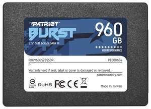 [СПб] SSD 960 GB Patriot Memory Burst PBU960GS25SSDR